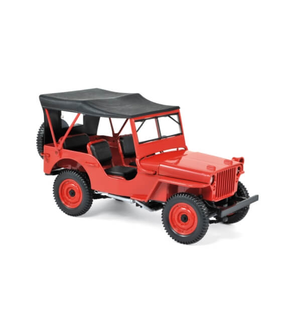 jeep 1942 - Red