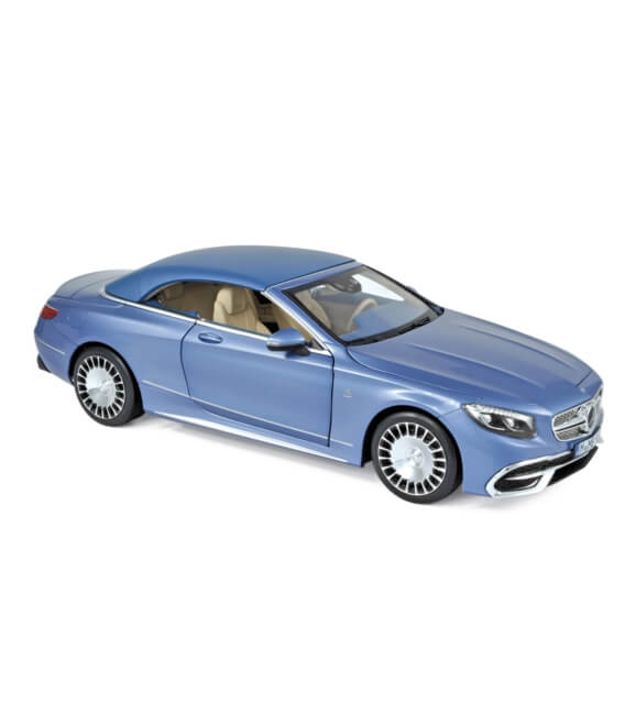 Mercedes-Maybach S650 Cabriolet 2018 Blue metallic