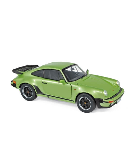 Porsche 911 Turbo 1978 - Silvergreen metallic