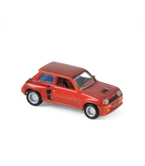 Renault 5 Turbo 1980 (x4) - Red metallic