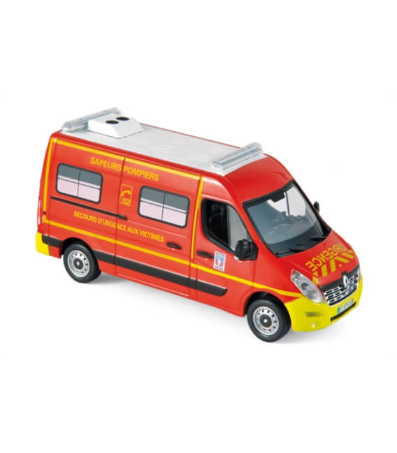 """Renault Master 2014 - Pompiers """"VSAV"""" Yellow bumpers"""