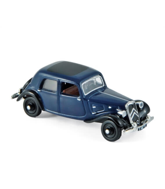 Citroën Traction 7A 1934 - Blue & Black