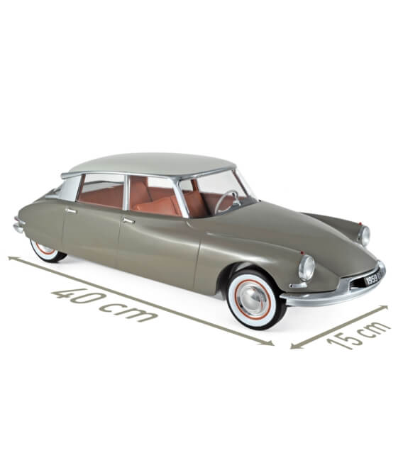 Citroën DS 19 1959 - Marron Glacé & Blanc Carrare