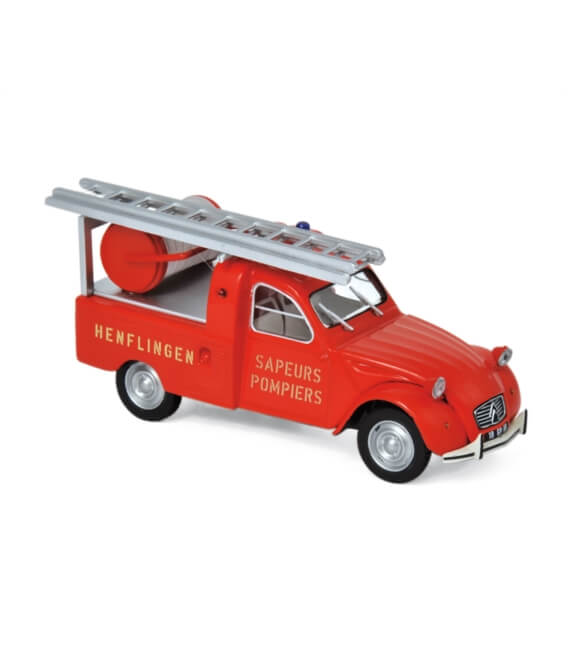 Citroën 2CV Pick-up with Ladder 1963 - 'Pompiers'