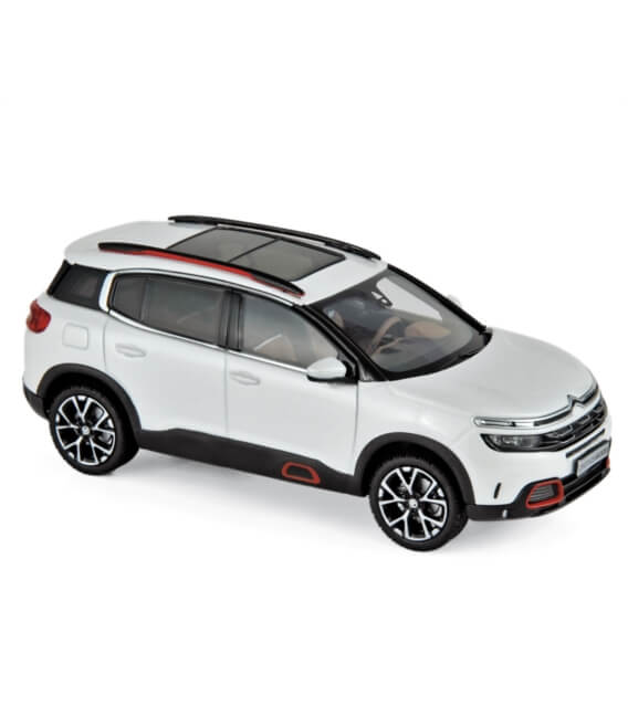 Citroën C5 Aircross 2018 - Pearl White & Red deco