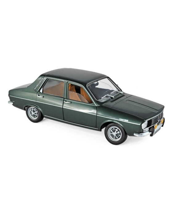 Renault 12 TS 1973 - Dark Green metallic