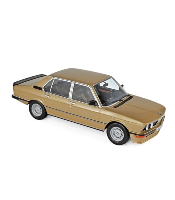 BMW M535i 1980 - Gold metallic