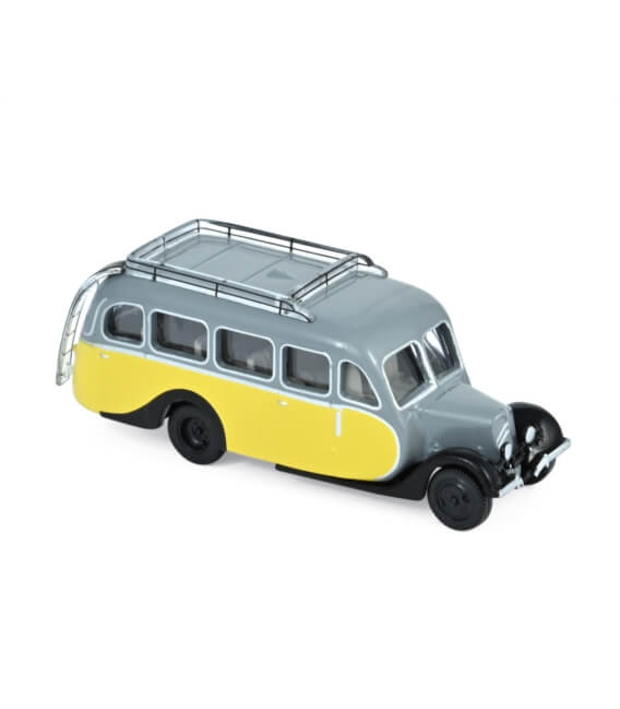 Citroën U23 Autocar 1947 (x4) - Yellow & Grey