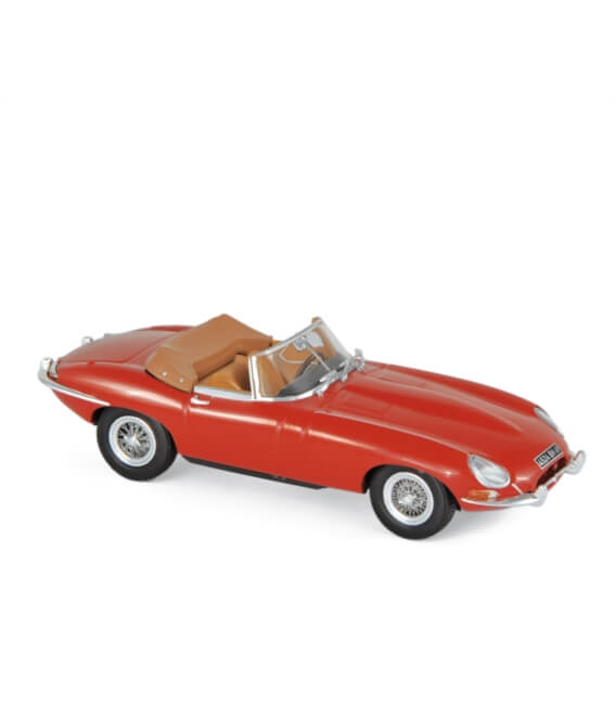 Jaguar E-Type Cabriolet 1961 - Carmin Red
