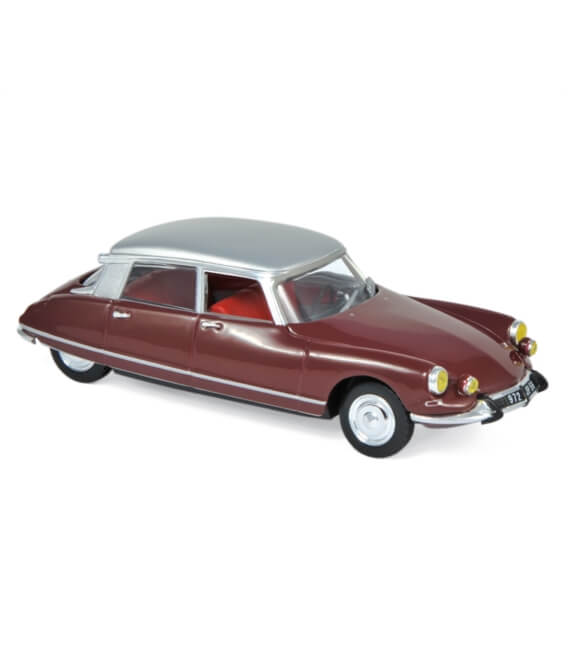 Citroën DS 21 Pallas 1967 - Dark Red