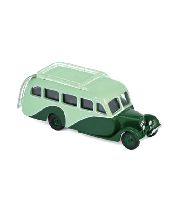 Citroën U23 Autocar 1947 - Light & Dark Green (x4)