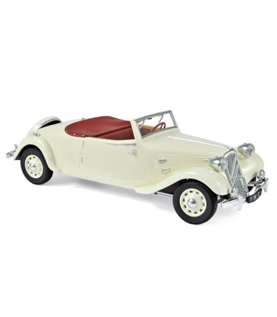 "Citroën ""Traction Avant"" 11 B Cabriolet 1939 - Cream"
