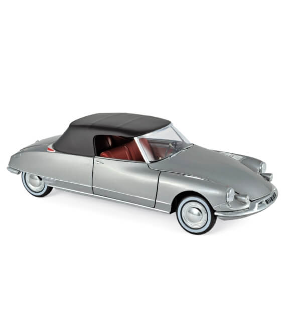 Citroën DS 19 Cabriolet 1961 - Pearl Grey (Chapron)