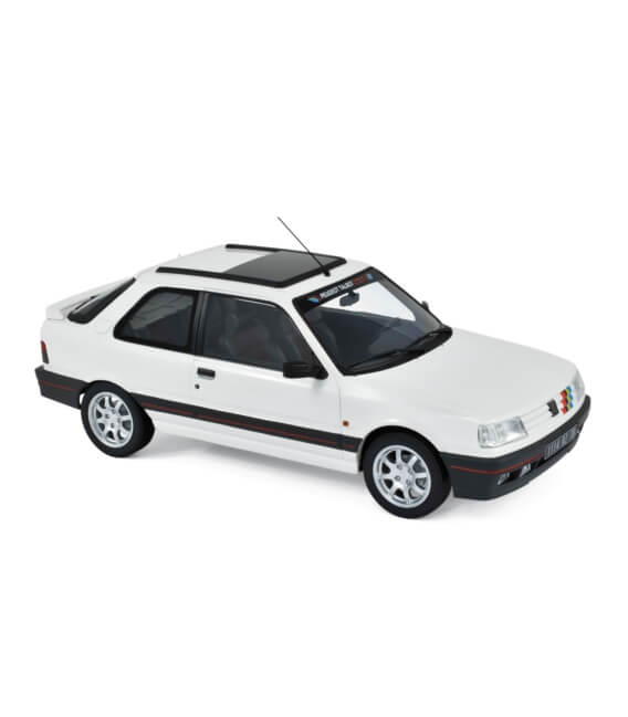 Peugeot 309 GTi 1990 - White with PTS deco - EXCLU WEB - 100 PCS ONLY