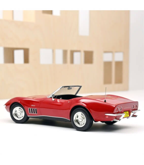 Chevrolet Corvette Convertible 1969 - Red
