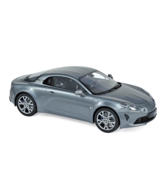 Alpine A110 Pure 2018 - Tonnerre Grey - EXCLU WEB - 100 PCS ONLY