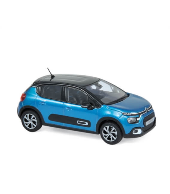 Citroën C3 2020 - Blue & Black roof