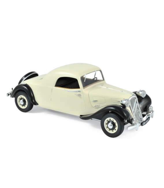 Citroën Traction Avant Coupé 11 B 1939 - Cream & Black - EXCLU WEB-100 PCS ONLY