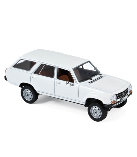 Peugeot 504 Break Dangel 1980 - Alaska White