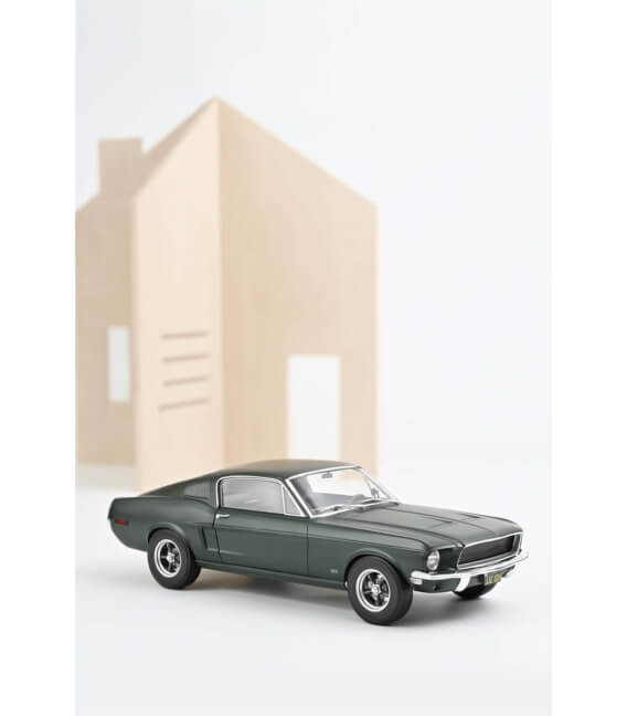 Ford Mustang Fastback 1968 - Satin Green metallic