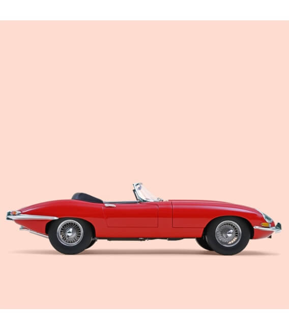 Jaguar E-Type Cabriolet 3.8 L 1962 - Red