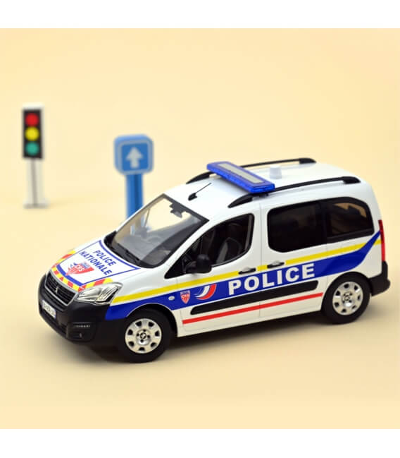 "Peugeot Partner 2017 ""Police Nationale-CRS""-EXCLU WEB - 100 PCS ONLY"