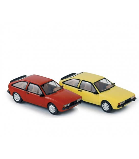 Volkswagen Scirocco 2 1980 (x4) - Red / Yellow