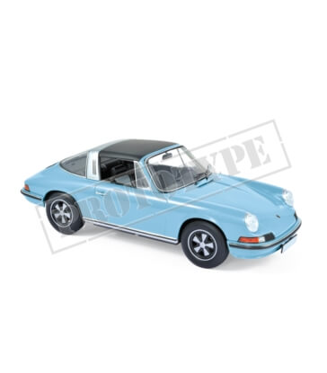 Porsche 911 S targa 1973 - Light Blue