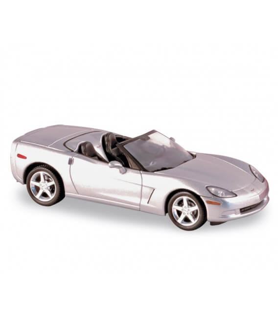 Chevrolet Corvette C6 Convertible Machine Silver 2004
