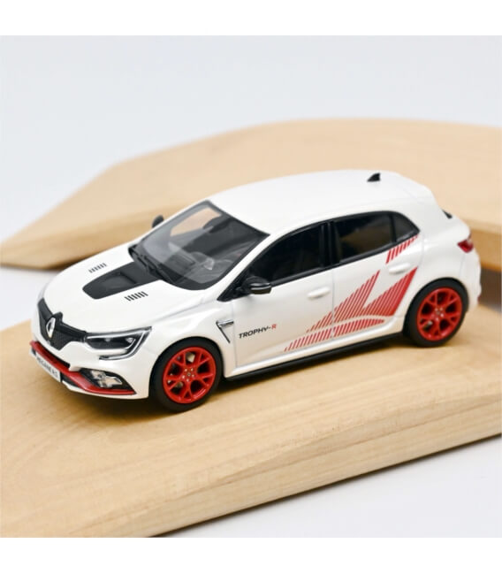 Renault Megane R.S. Trophy-R 2019 - White & Red rims