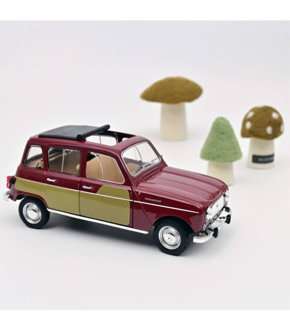 Renault 4 Parisienne 1966 - Dark Red - EXCLU WEB - 150 PCS ONLY