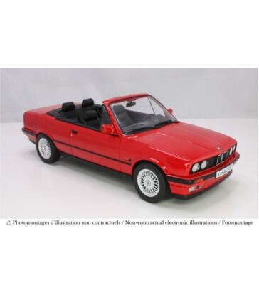BMW 318i Cabriolet 1991 - Red