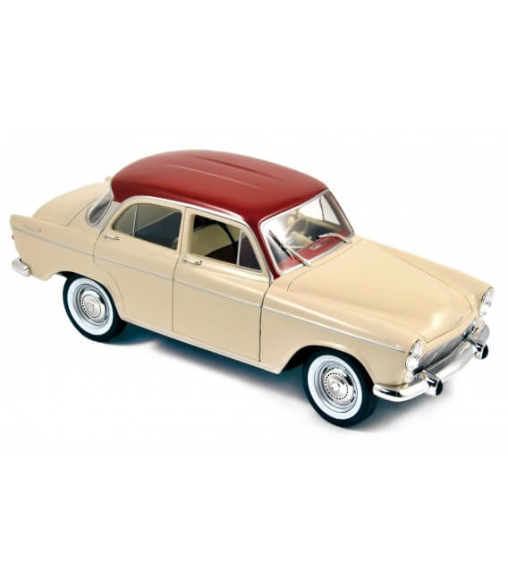 Simca Aronde P60 Montlhéry 1961 - China Ivory & Tison Red