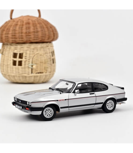 Ford Capri 2.8i Injection 1983 - Silver - EXCLU WEB - 150 PCS ONLY