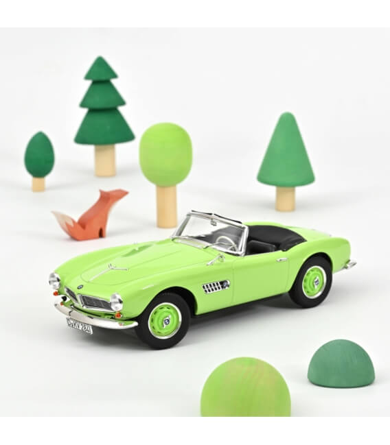 BMW 507 Cabriolet 1956 - Light Green - EXCLU WEB - 200 PCS ONLY