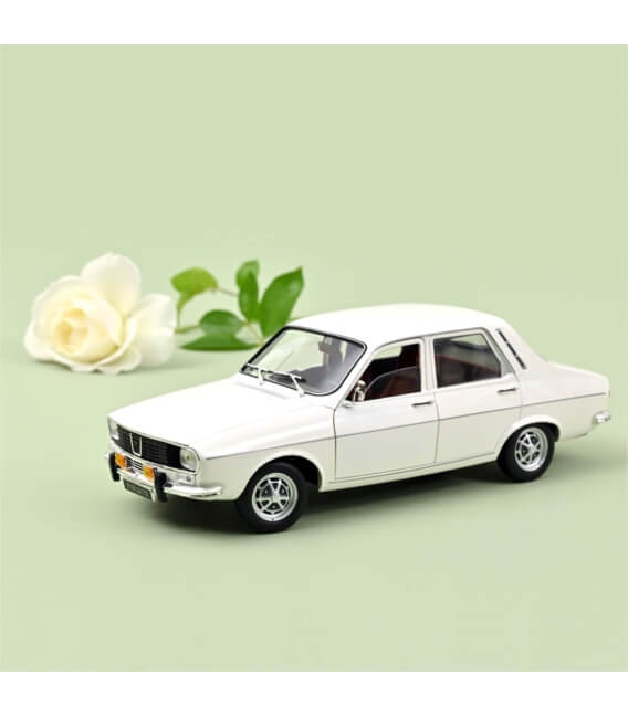 Renault 12 TS 1973 - White - ECLU WEB 200 pièces ONLY