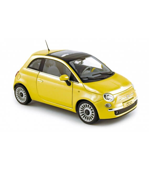 Fiat 500 lounge - Yellow