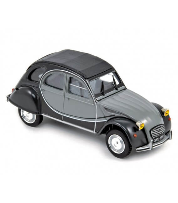 Citroën 2CV Charleston 1983 - Cormoran Grey & Nocturne Grey