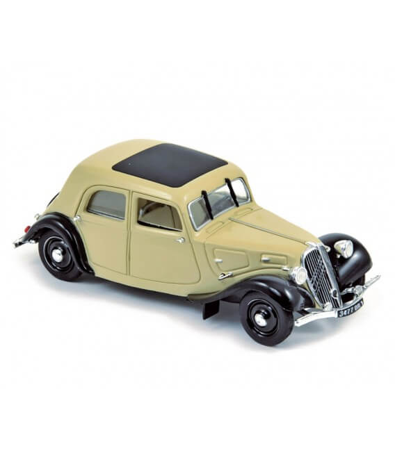 Citroën Traction 7C 1934 - Beige & Black