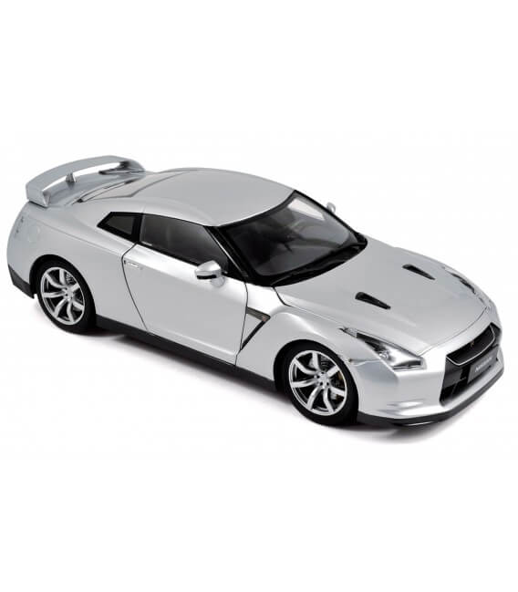 Nissan GTR R-35 LHD 2008 - Ultimate Silver