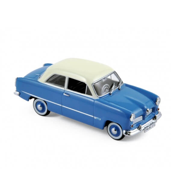 Ford Taunus 12M 1954 - Blue w/White Roof