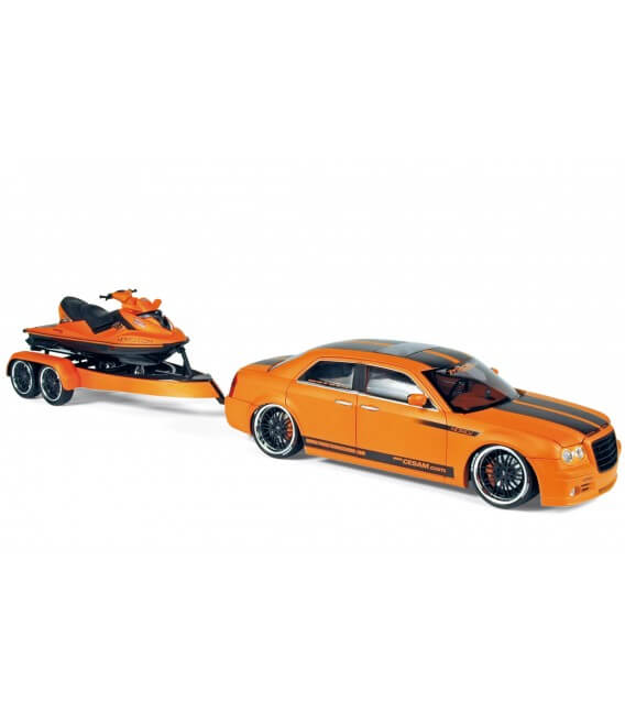300C Norev by Parotech + jet ski Parotech orange/noir 2007