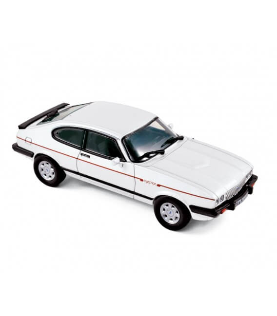 Ford Capri 2.8 injection 1984 - Arctic Blue