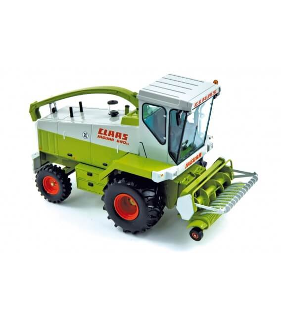 Claas Jaguar 690 1985 with grass pick-up head