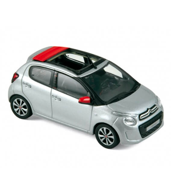 Citroën C1 Airscape 2014 - Gallium Grey & Agrume red