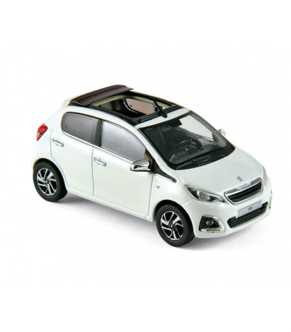 Peugeot 108 TOP! 2014 - Banquise White & Purple Red
